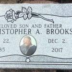 Single Flat Grave Marker Design Inspiration